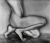 nude (bertha, glendale) by edward weston