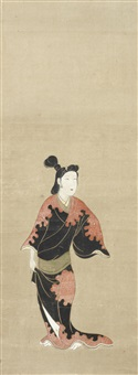 kakejiku by anonymous-japanese (edo period)