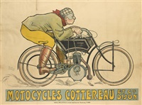 motocycles cottereau by rené vincent