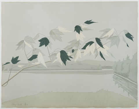 feuillages by alex katz