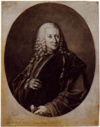 portrait of giorgio pisani, procuratore di venezia by felice boscaratti