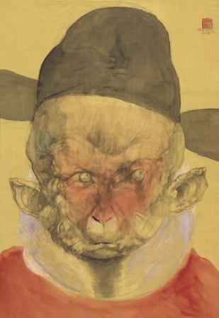 monkey by qiu jiongjiong