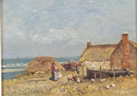 poultry on the shore by robert weir allan