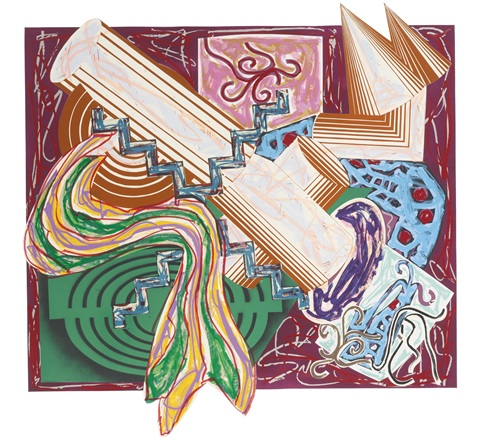 illustrations after el lissitskys had gadya then came a stick and beat the dog by frank stella