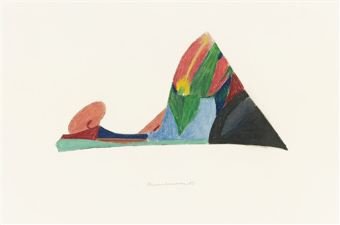 drawing for bedroom painting by tom wesselmann