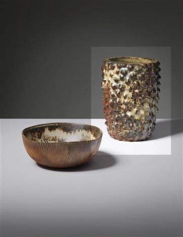 vase in the budding style by axel johann salto
