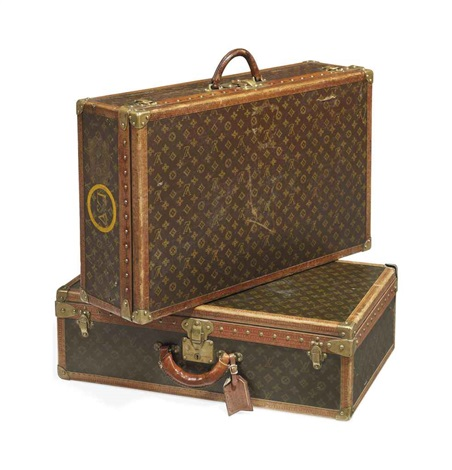alzer suitecases 2 works by louis vuitton