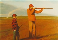 sightland (+ 2 others; 3 works) by bo bartlett
