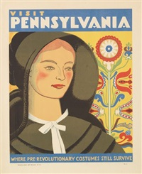 visit pennsylvania, pre-revolutionary costumes by katherine milhous