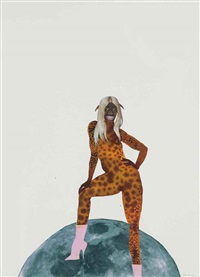 untitled (pin-up no. 3) by wangechi mutu