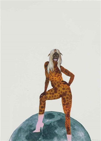 untitled pin up no 3 by wangechi mutu