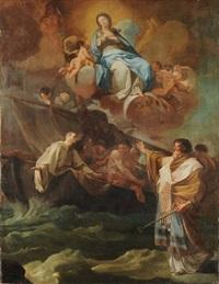 apparizione della vergine by corrado giaquinto