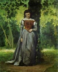 signora nel parco by vito d' ancona