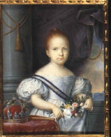 isabel ii queen of spain and the indies by luis de la el canario cruz y ríos