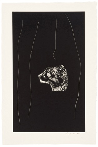 soot black stone 3 and 5 2 works by robert motherwell