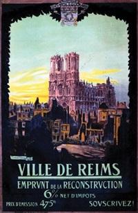 ville de reims - la cathédrale by adrien senechal