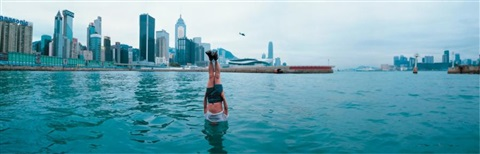 li wei falls to hong kong in 4 panels by li wei