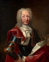 portrait présumé de charles-emmanuel iii de savoie, roi de sardaigne, portant le collier de l'ordre suprême de la très sainte annonciade by german school (18)