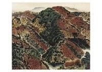 autumn landscape in ohara by hitoshi komatsu