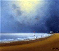 aldeburgh shore by lawrence coulson