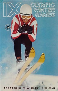olympics/innsbruck by posters: sports - olympics
