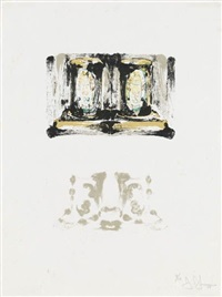 ale cans (ii) by jasper johns