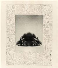 passepartout's (erotografische aufzeichnungen) (set of 8 w/title) by jürgen klauke
