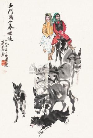春意烂漫 figure by huang zhou
