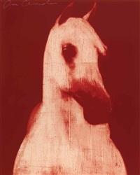 red horse head by joe andoe