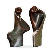 shapes (pair) by birgitta majlis ara