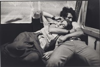 dans un train, roumanie by henri cartier-bresson