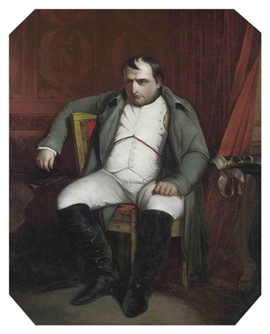 napoleon in fontainbleau by paul hippolyte delaroche