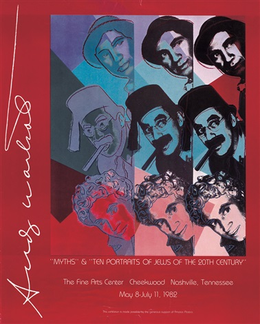 the jewsthe miths marx brothers by andy warhol