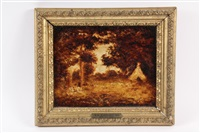 indian encampment by ralph albert blakelock