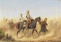 soldaten im feldzug by christian sell the elder