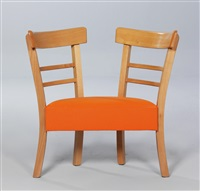 double chair (child's chair) by ginbande design