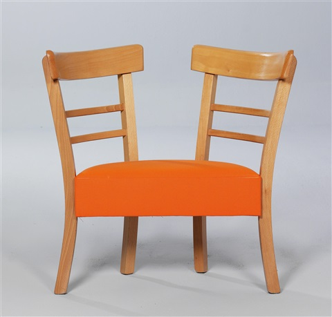 Strange Double Chair Childs Chair By Ginbande Design On Artnet Andrewgaddart Wooden Chair Designs For Living Room Andrewgaddartcom