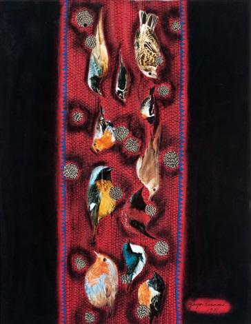 birds by yayoi kusama