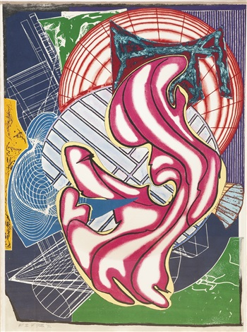 stubb flask kill a right whale dome from moby dick domes by frank stella