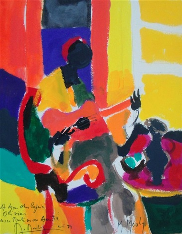 la guitarre rouge by marcel mouly
