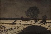 snowscape by maximilien (max) clarenbach
