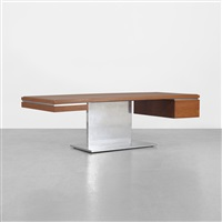 executive desk by warren platner