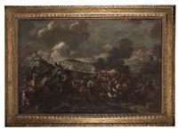 scena di battaglia by ambrogio borgognone