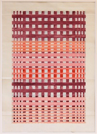untitled (design for textile) by benita koch-otte