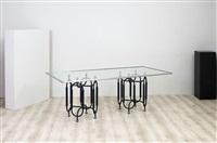 tavolo da pranzo mod. tri-15 by roberto gabetti