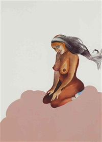 untitled (pin-up no. 4) by wangechi mutu