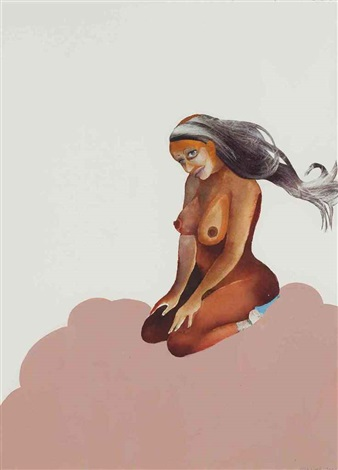 untitled pin up no 4 by wangechi mutu