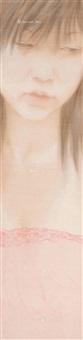 蕾丝 镜框 设色绢本 by xu hualing