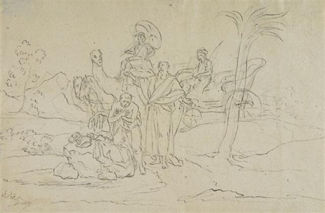 phillipus tauft den kämmerer aus dem morgenland by simon klotz