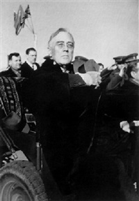 president roosevelt at yalta, february 1945 by samarly gurarly